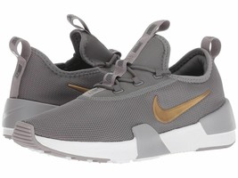 Nike Ashin Modern (GS) Gunsmoke Gray Gold Grade School Kids Shoes AO1686 003 - $57.95