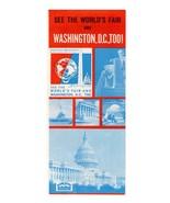 New York World's Fair NYWF Advertising Graphic Arts 1964 Washington, DC ... - $14.99