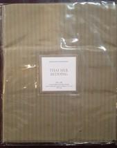 """NWT Restoration Hardware """"Tonal Stripe Silk"""" Flax Standard Sham - $25.69"""