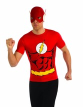 Rubies Dc Comics Flash Barry Allen Adultes Hommes Déguisement Halloween ... - $23.02