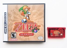 Legend of Zelda - Oracle of Seasons w/ Custom Case GBA Gameboy Advance R... - $20.69