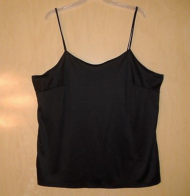 9a1384e4f Faded Glory Womens 2X Black Cami Nice and 50 similar items