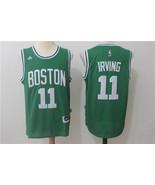 Men's Boston Celtics #11 Kyrie Irving Jersey Stitched basketball jersey ... - $26.66
