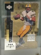 1998 Black Diamond #PC24 Brett Farve Premium Cut Gold Triple Diamond - $42.56