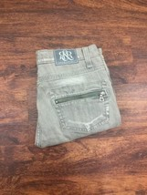 ROCK AND REPUBLIC Women's Gray Washed Slim Jeans Size 0 - $25.99