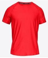 Under Armour Ua Mk-1 Short Sleeve Red T-shirt 1306428 630  MEDIUM - $21.78