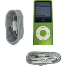 Apple iPod Nano 4th Generation 16GB Green, Very Good , 6 Month Warranty - $155.19