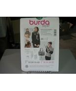Burda 7159 Fur Accessories Pattern - Size 8-22 - $7.91