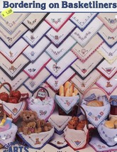 Bordering On Basketliners 36 Designs by Lynn Busa Cross Stitch PATTERN #12 - $2.67