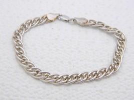 """VTG .925 Sterling Silver ITALY Interlinking Multi Chain Bracelet 7"""" - $39.60"""