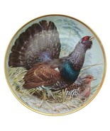 Limoges Gamebirds of the World Capercaillie Plate Basil Ede Bird Plate - $47.32