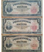 Manila PHILIPPINES Treasury Certificate 1 Peso Mabini, Series of 1936, L... - $25.95