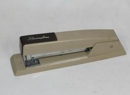 Vintage Heavy Duty Swingline Metal Stapler Model 94-41 Gray WORKS - $10.09