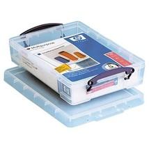 "Really Useful Box Plastic Storage Box, 4 Liters, 14 5/8"" x 10 1/4"" x 3 3... - $16.91"