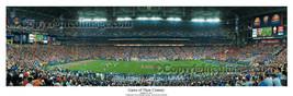 Florida Gators 2007 BCS National Champions 50 Yard Line Panoramic Poster... - $49.95+