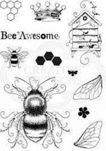 Bee-utiful Stamp Set.  Pink Ink Design image 2