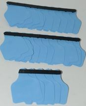 Destron Fearing DuFlex Visual Livestock Id Panel Tags Large Blue Blank 25 Sets image 6