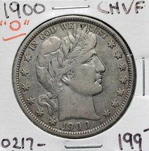 1900O Silver Barber Half Dollar 50¢ Coin Lot# A 612