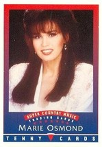 Marie Osmond - first appearance trading Card (Super Country Music) 1992 ... - $4.00