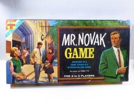 Mr. Novak Board Game NBC TV Transogram Show Teacher High School Vintage ... - $34.65