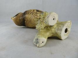"""Vintage BARN OWL Figurine Bird Ceramic Model Hand Painted JAPAN 6""""1/2 Tall image 7"""