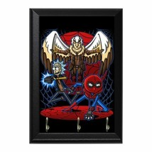 Spider Morty Vulture Person Decorative Wall Plaque Key Holder Hanger - $14.70+