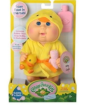 Cabbage Patch Kids Bubble N Bath Bathtime Doll- Yellow Duck - $37.79