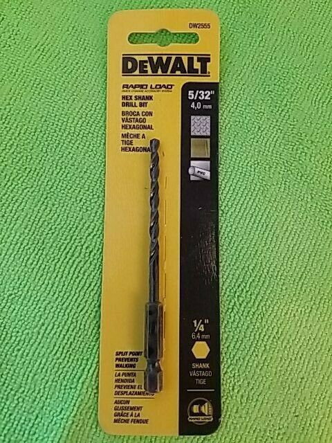 Primary image for DeWalt DW2555 5/32 in. x 3 in. L High Speed Steel Drill Bit 1 pc.