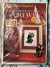 Crown Elegance BALLOON MAN Royal Doulton Figures In Crewel Kit Vintage Gift - $26.18
