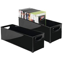 mDesign Plastic Stackable Household Storage Organizer Container Bin with... - $24.59