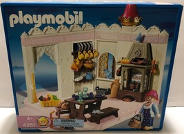 NIB Playmobil Royal Kitchen #4251 Part of Magic Castle Rare Sealed Disco... - $148.49