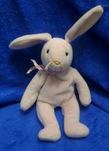 Ty Beanie Baby Floppity Lavender Rabbit PVC Filled 3rd Generation Tush  ... - $4.45