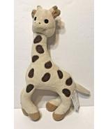 Sofie Giraffe by Vulli France Soft Plush Stuffed Animal Toy Rattle - $12.60