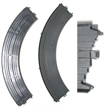 2 Ideal TCR HO 1977 Total Control Racing 1/4 12 inch CURVE Tracks. USED 3309-2 - $16.82