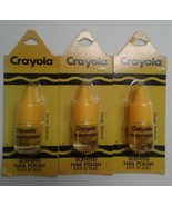 Crayola Laser Lemon Scented Nail Polish Carded - $10.00