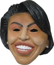 Michelle Obama Mask 1/2 Political First Lady Adult Halloween Costume TA512 - $32.99