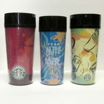 LOT OF (3) STARBUCKS COFFEE COMPANY 1998 THERMOSERV 12 - 16 Oz TRAVEL TU... - $40.72