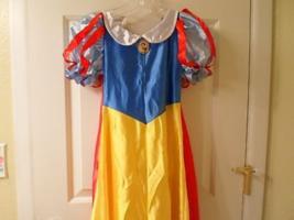 Disney Snow White Costume Dress - Child Sz 7/8 - £19.15 GBP