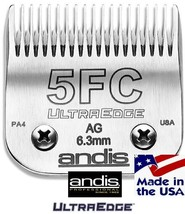 """ANDIS ULTRAEDGE 5FC 6.3mm/1/4"""" BLADE*Fit Most Oster,Wahl,Laube Clipper*G... - $40.99"""