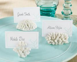 Seven Seas White Summer Beach Coral Place Card Photo Holder Wedding  Favor - €65,23 EUR+