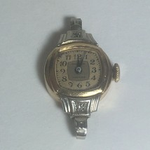 Waltham Premier 670 Watch 10k G.F. Small Diamonds Starts And Stops For Parts - $19.00