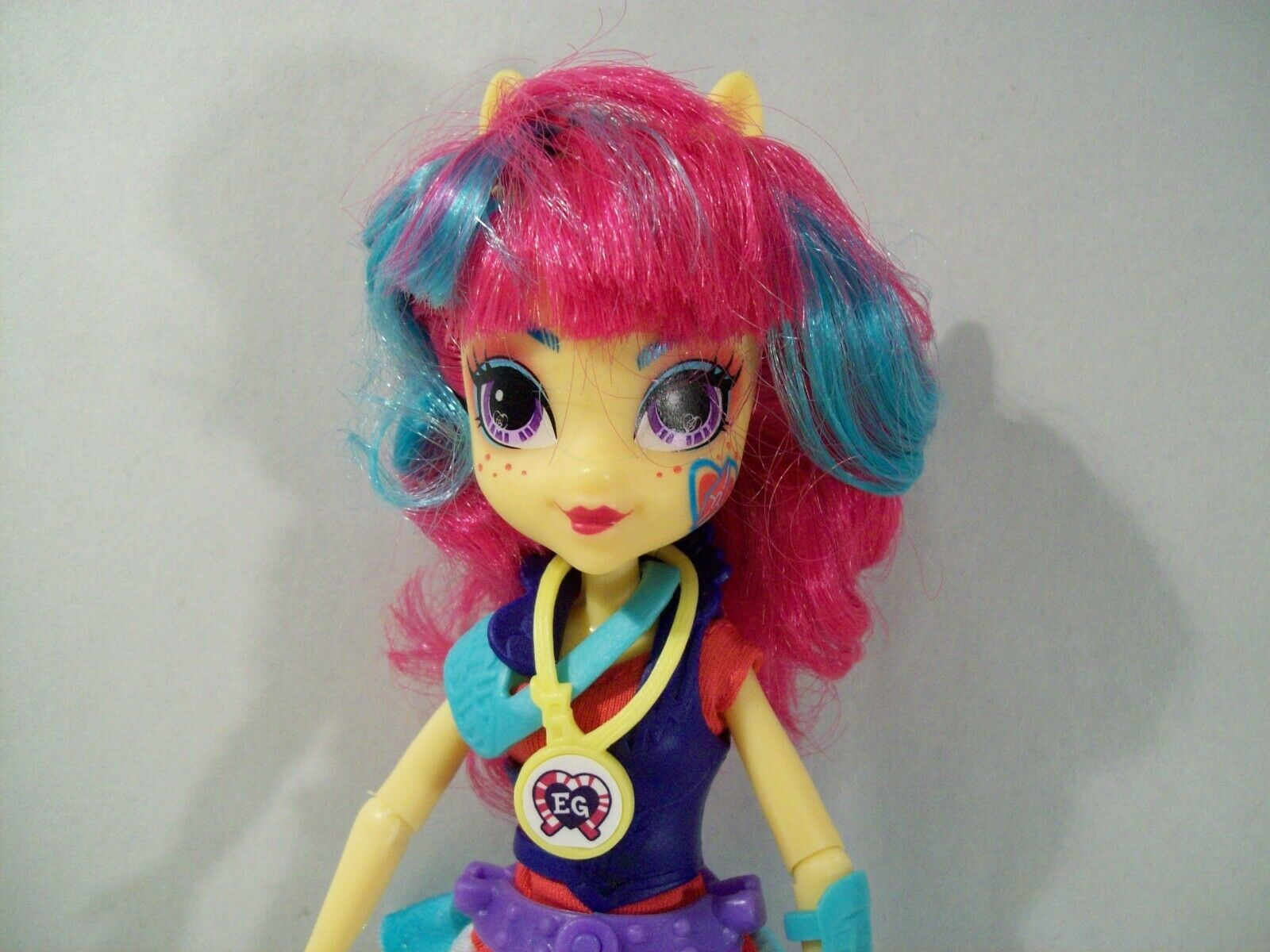 "MY LITTLE PONY EQUESTRIA GIRLS FRIENDSHIP GAMES SOUR SWEET ARCHERY 9"" DOLL"