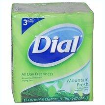 Dial Mountain Fresh Antibacterial Deodorant Soap 3 ct - $2.10
