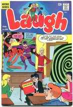 Laugh Comics #191 1967- Pop art cover- Archie- Jughead FN- - $31.53
