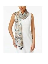 Echo Butterfly Silk Oblong Scarf - $49 - NWT - £23.20 GBP