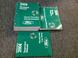 2004 Ford Krone Victoria & Grand Marquis Service Shop Manuell Set W Ewd ... - $89.09