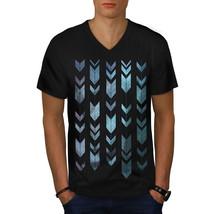 Arrow Cool Design Fashion Shirt Shape Art Men V-Neck T-shirt - $12.99+