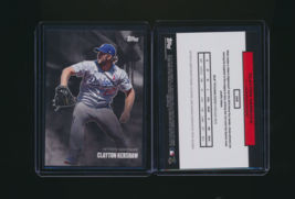 2020 Topps Curated Pete Alonso Set Card Clayton Kershaw Dodgers #H4 - $2.00