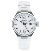 Kenneth Cole New York Men's KC3919 Analog Silver Dial Watch - $55.81