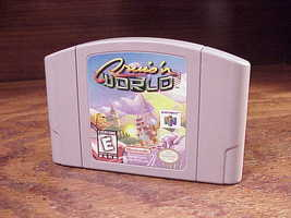 Nintendo N64 Cruis'n World Racing Game Cartridge, NUS-NCWE-USA, cleaned,... - $11.95